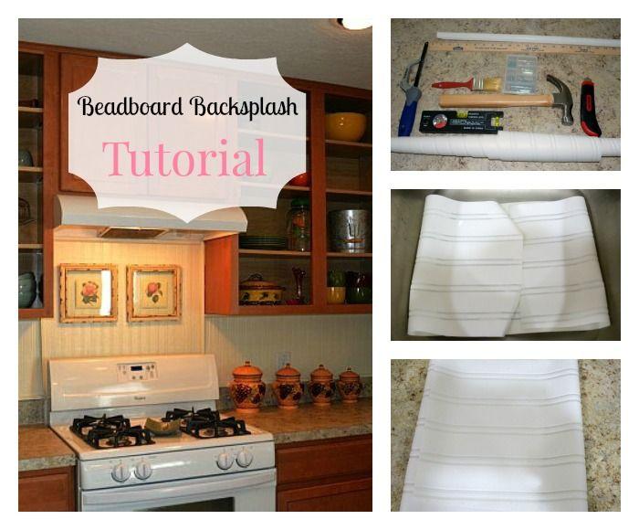 HOW TO INSTALL BEADBOARD WALLPAPER GRAPHICSSTENCILSPAINT TECHNIQ 700x580
