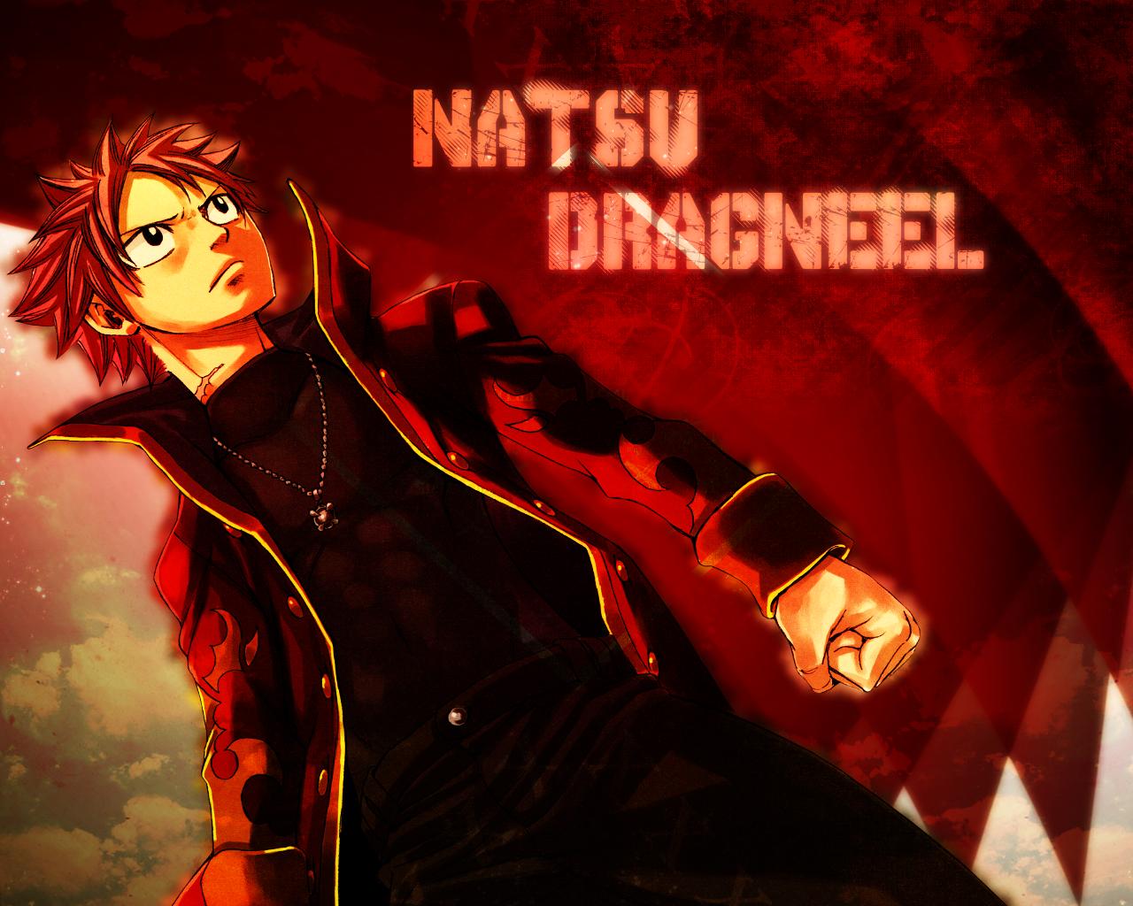 Fairy Tail Natsu Dragneel   WALLPAPER by Silas Tsunayoshi on 1280x1024