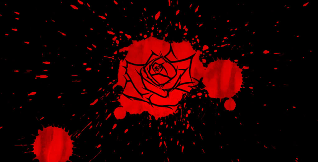 bloody rose wallpaper wallpapersafari