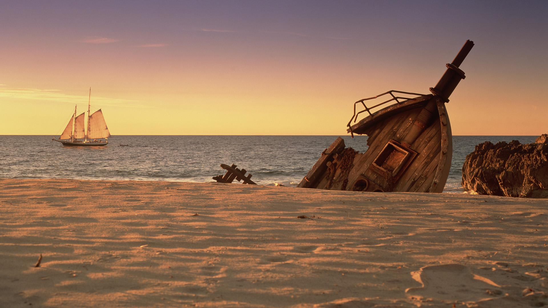 Shipwreck background 7 Background Check All 1920x1080