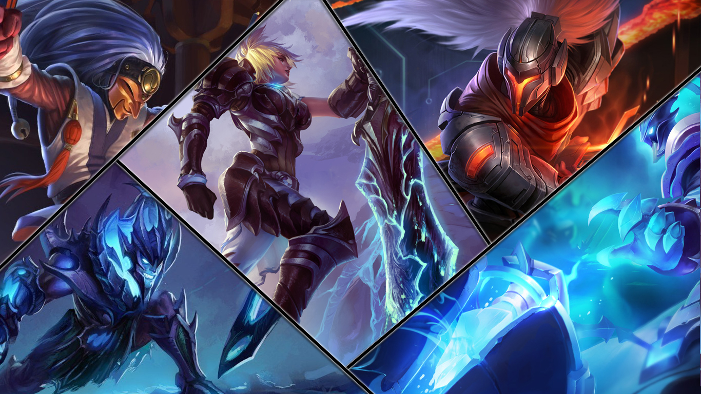 League of Legends Desktop Wallpaper by Redrafter on DeviantArt