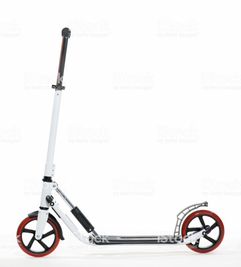 White Scooter Photo On White Background Stock Photo   Download 924x1024