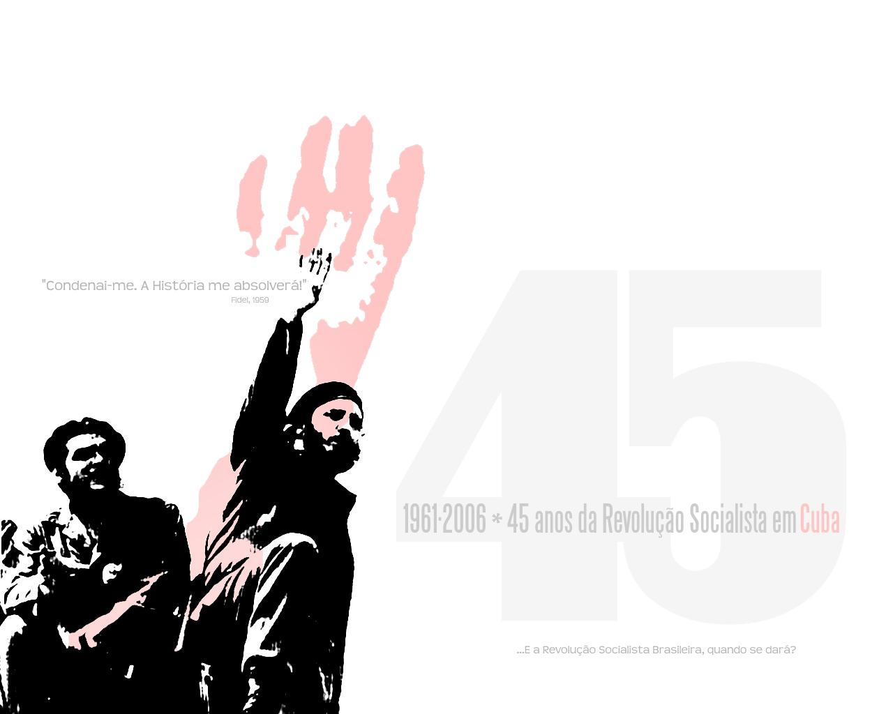 Socialist Wallpaper Cuban socialist revolution by 1280x1024