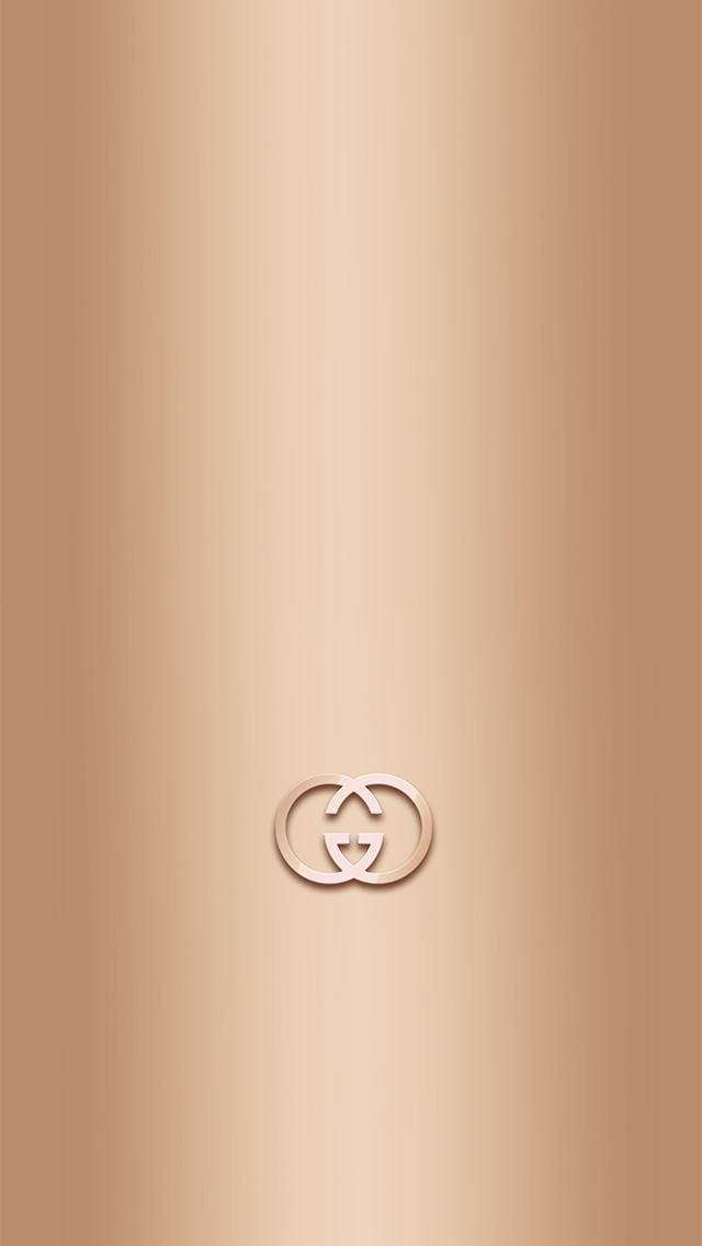 Golden Gucci iPhone wallpaper 640x1136