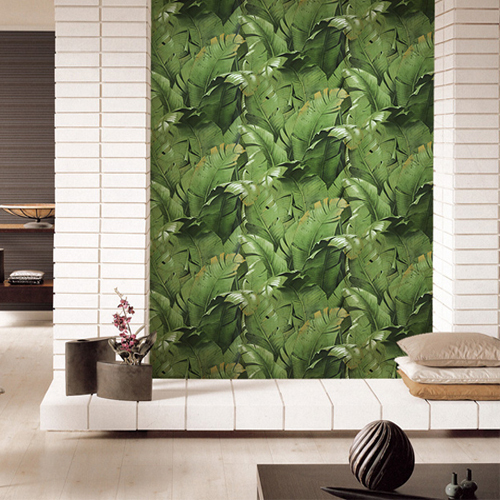 Banana Leaf Eco Friendly Art Photo Wallpapers Sofa Tv Background Walls 500x500