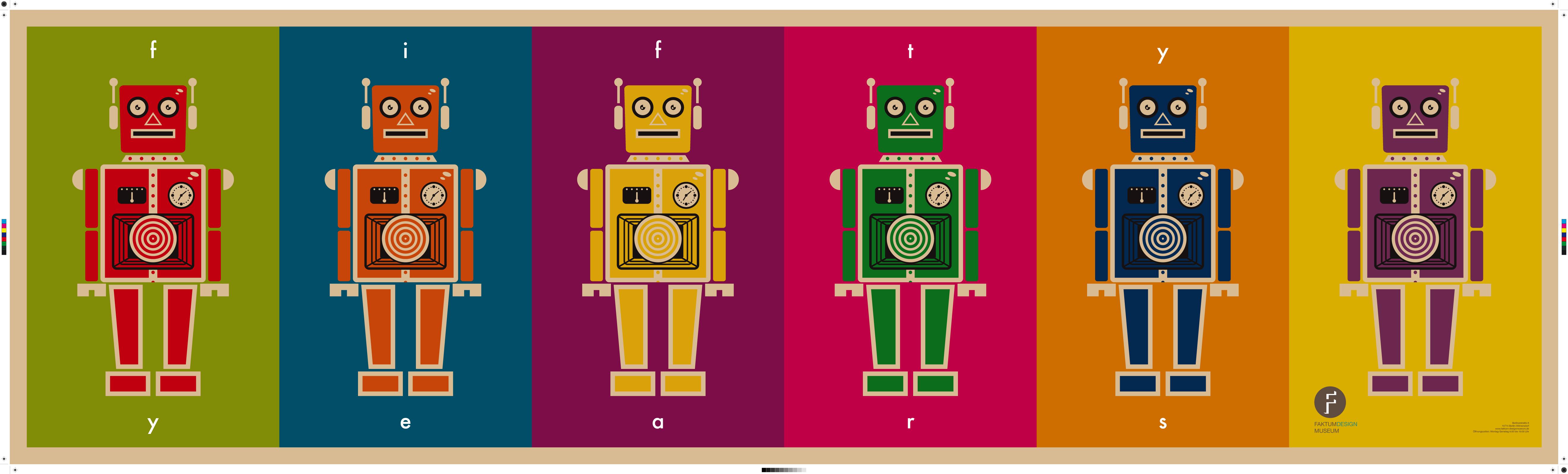Retro Robot Faktum Banner by JoelPoischen 5282x1597