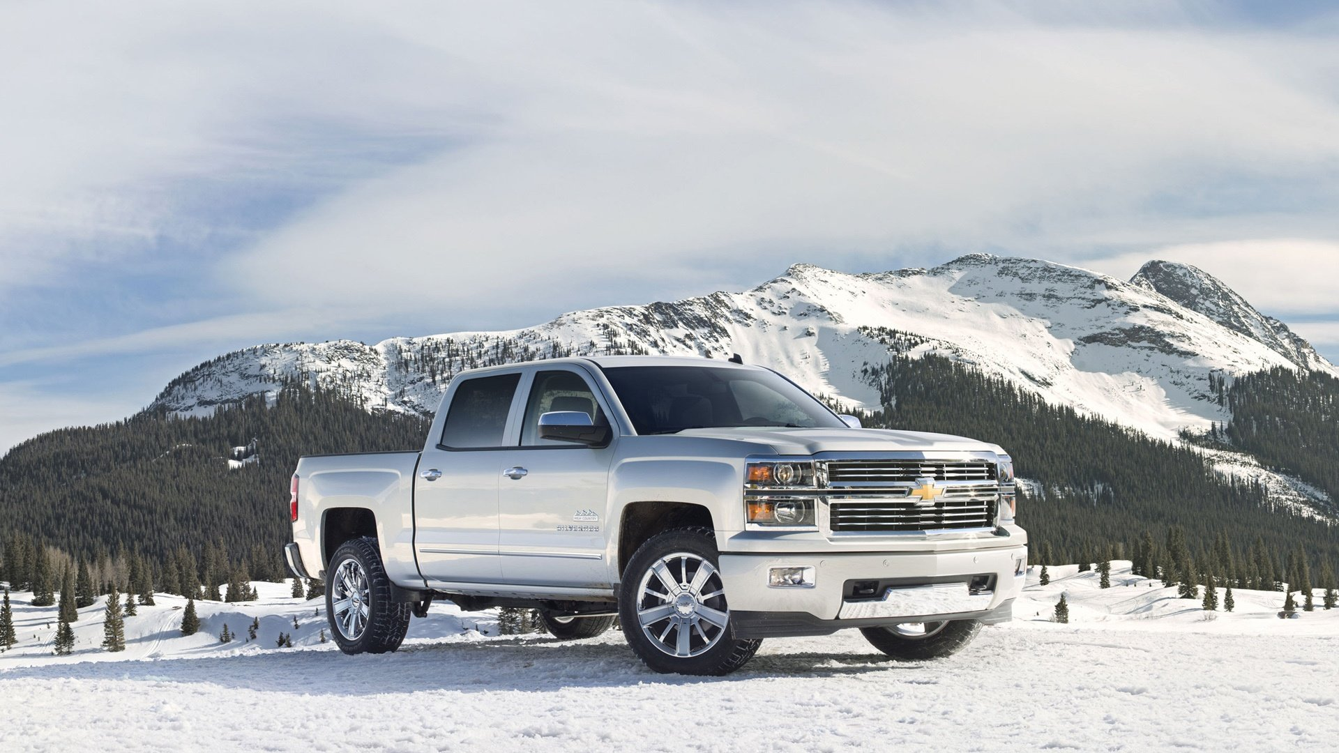 2014 Chevrolet Silverado Wallpaper HD Car Wallpapers 1920x1080