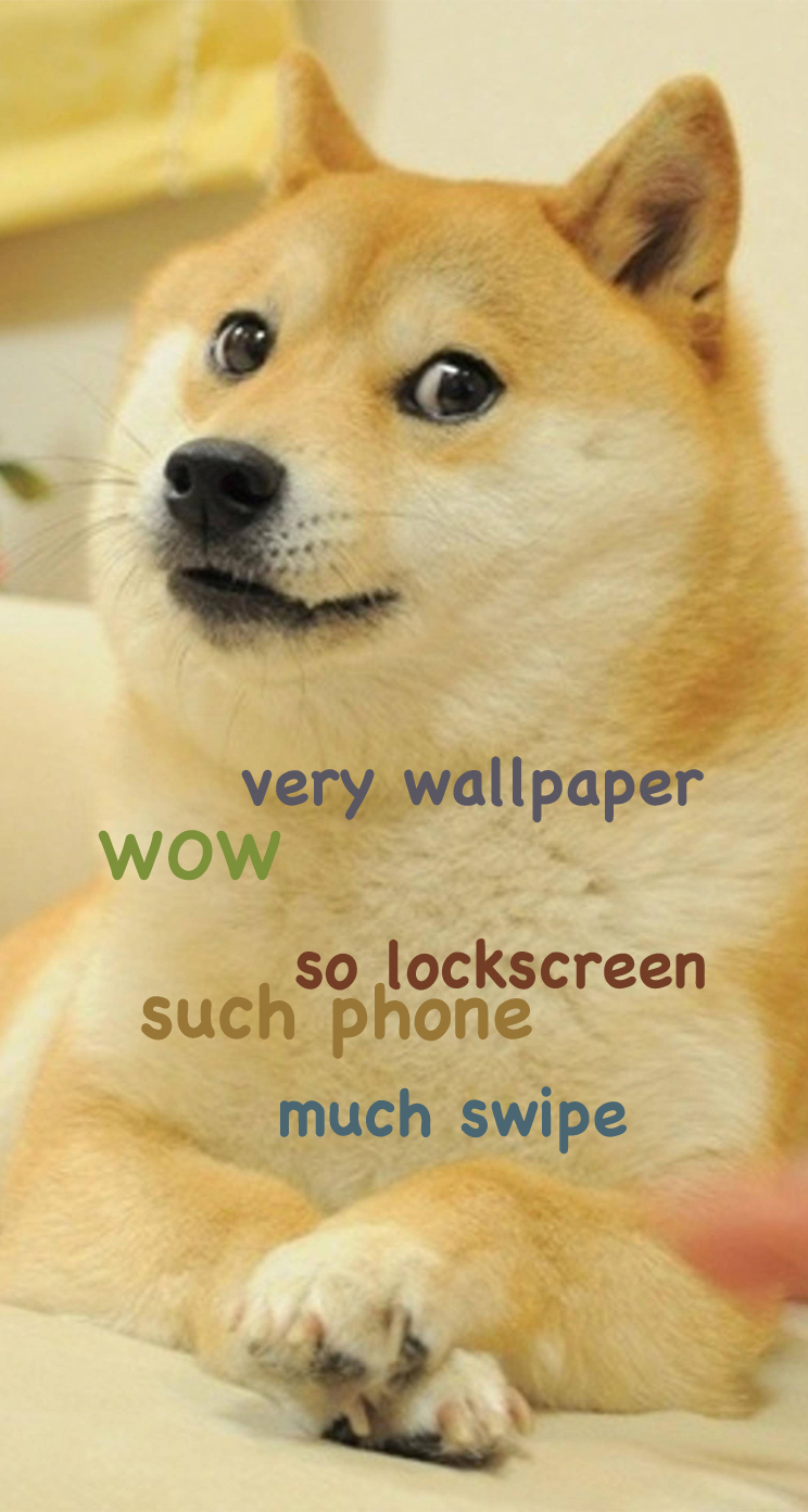 doge meme iphone parallax wallpapersafari hd code