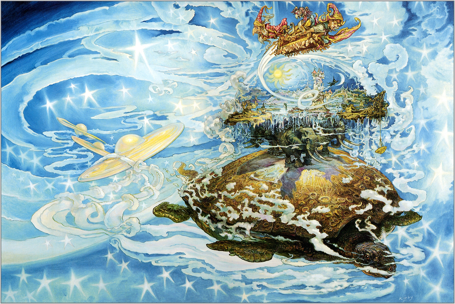 turtles discworld terry pratchett drawings 1872x1250 wallpaper 1872x1250