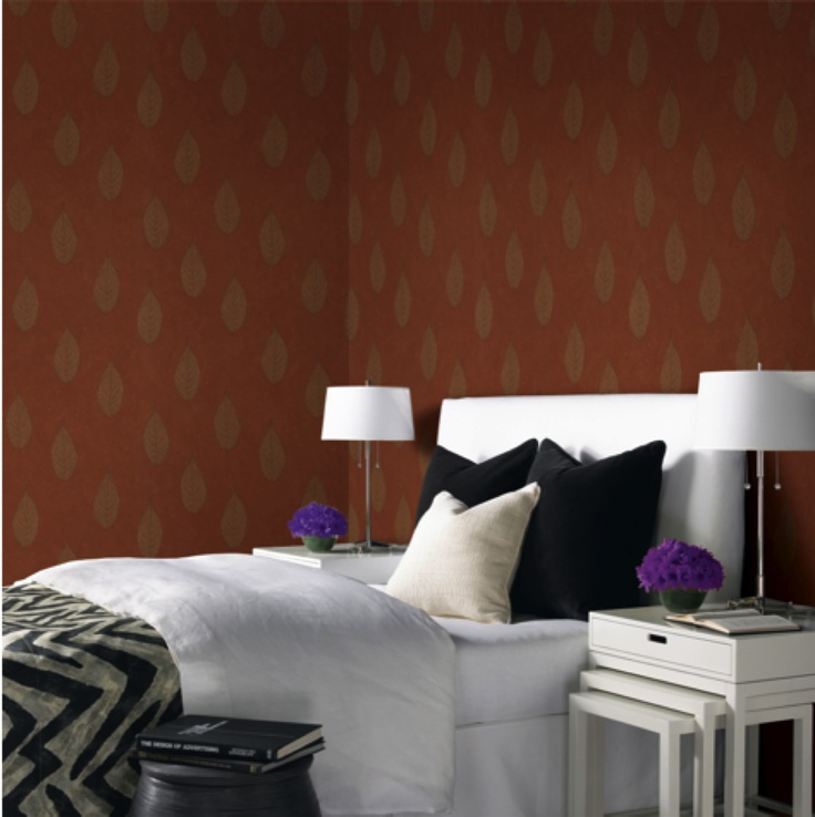 with this wallpaper from the HGTV HOME by Sherwin Williams collection 736x738