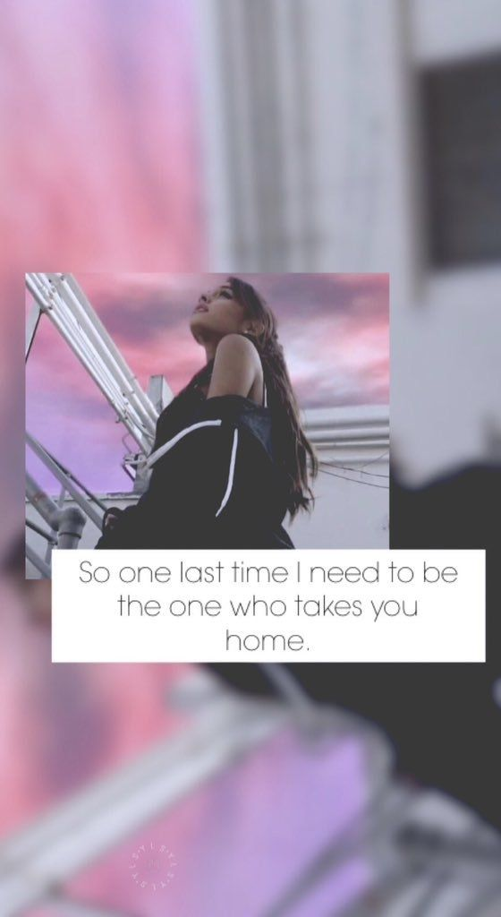 Wallpaper Lockscreen Ariana Grande ONE LAST TIME 560x1024