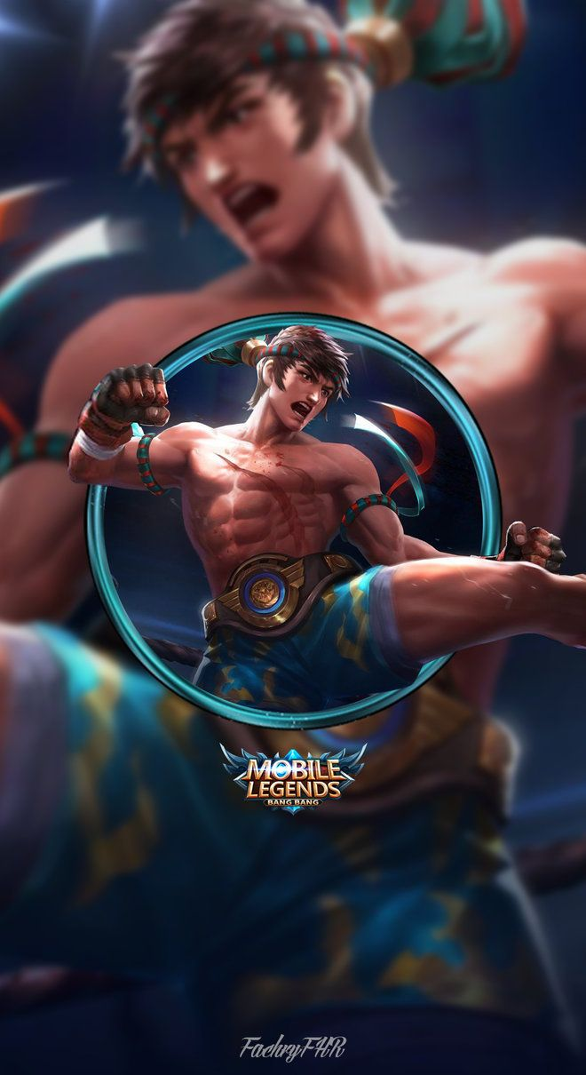Wallpaper Phone Chou King of the Fighter by FachriFHR Legend 660x1210