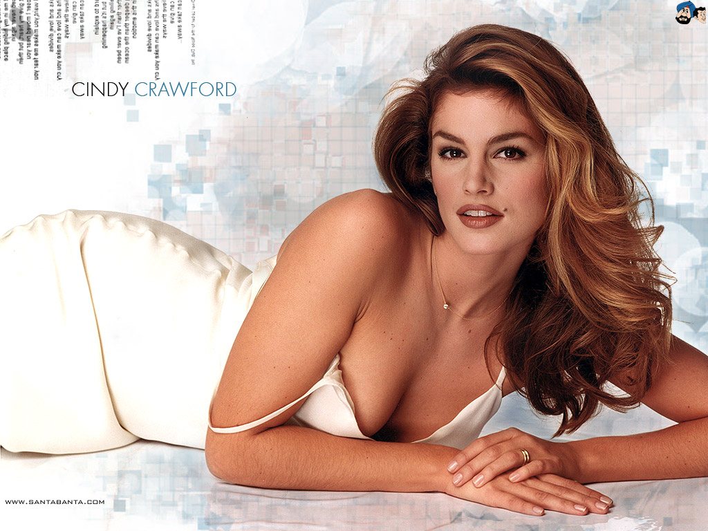 Cindy Crawford Wallpaper 1   1024 X 768 stmednet 1024x768