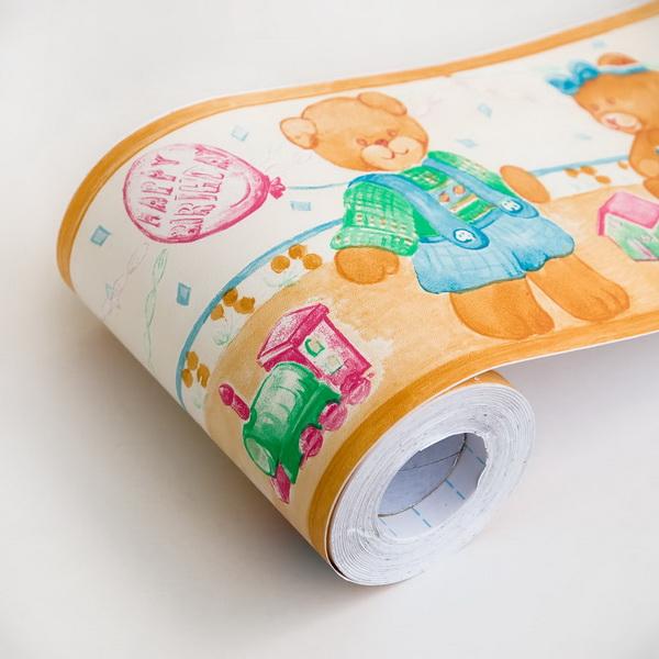 Wholesale Bulk Dropshipper Balloon Teddy   Self Adhesive Wallpaper 600x600