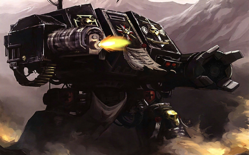 warhammer 40k space marines dreadnought 1280x800 wallpaper Aircraft 800x500