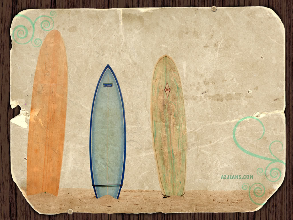Surfboard Wallpaper Background Theme Desktop 1024x768