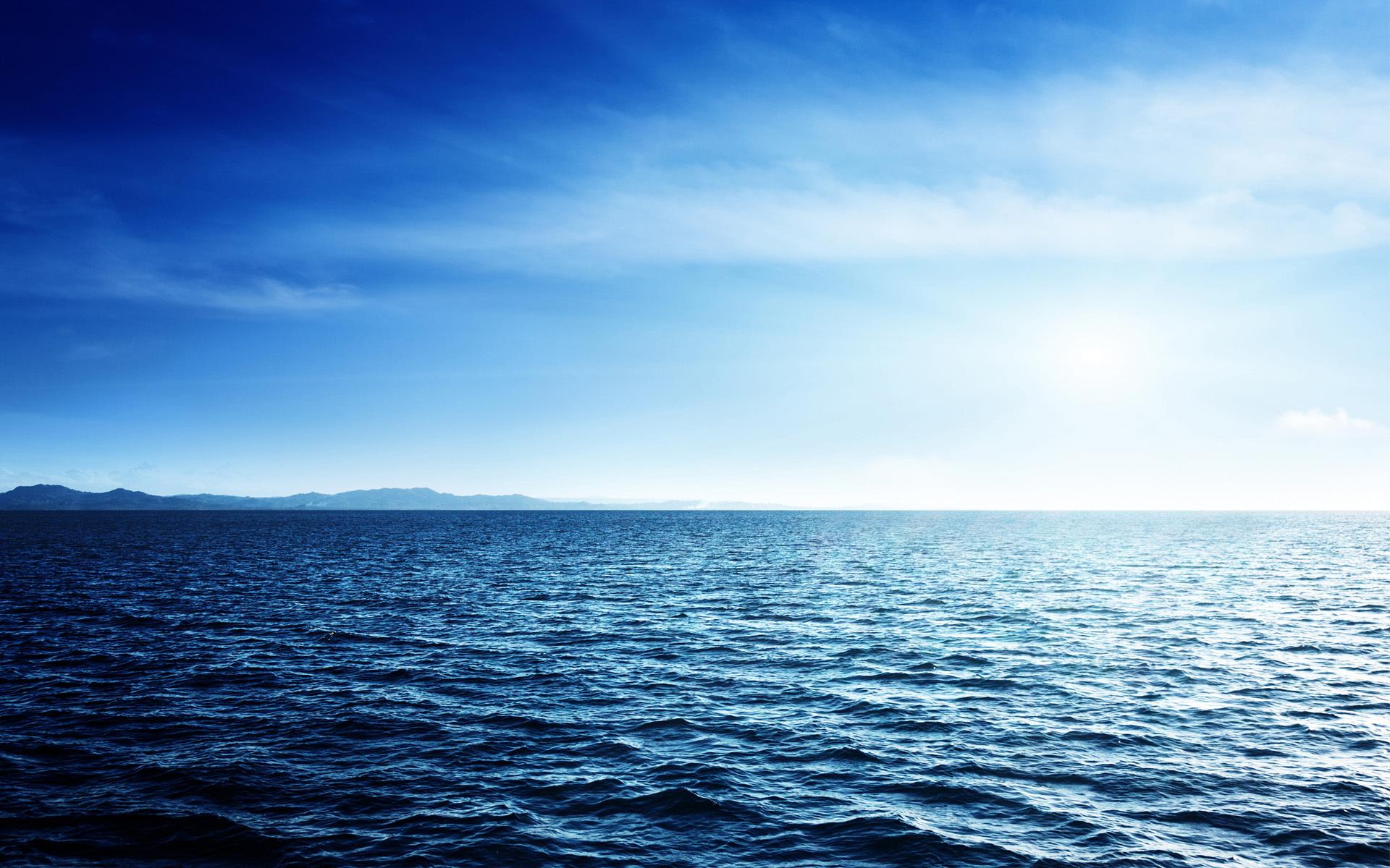 Sea ocean water sky horizon wallpaper   ForWallpapercom 1920x1200