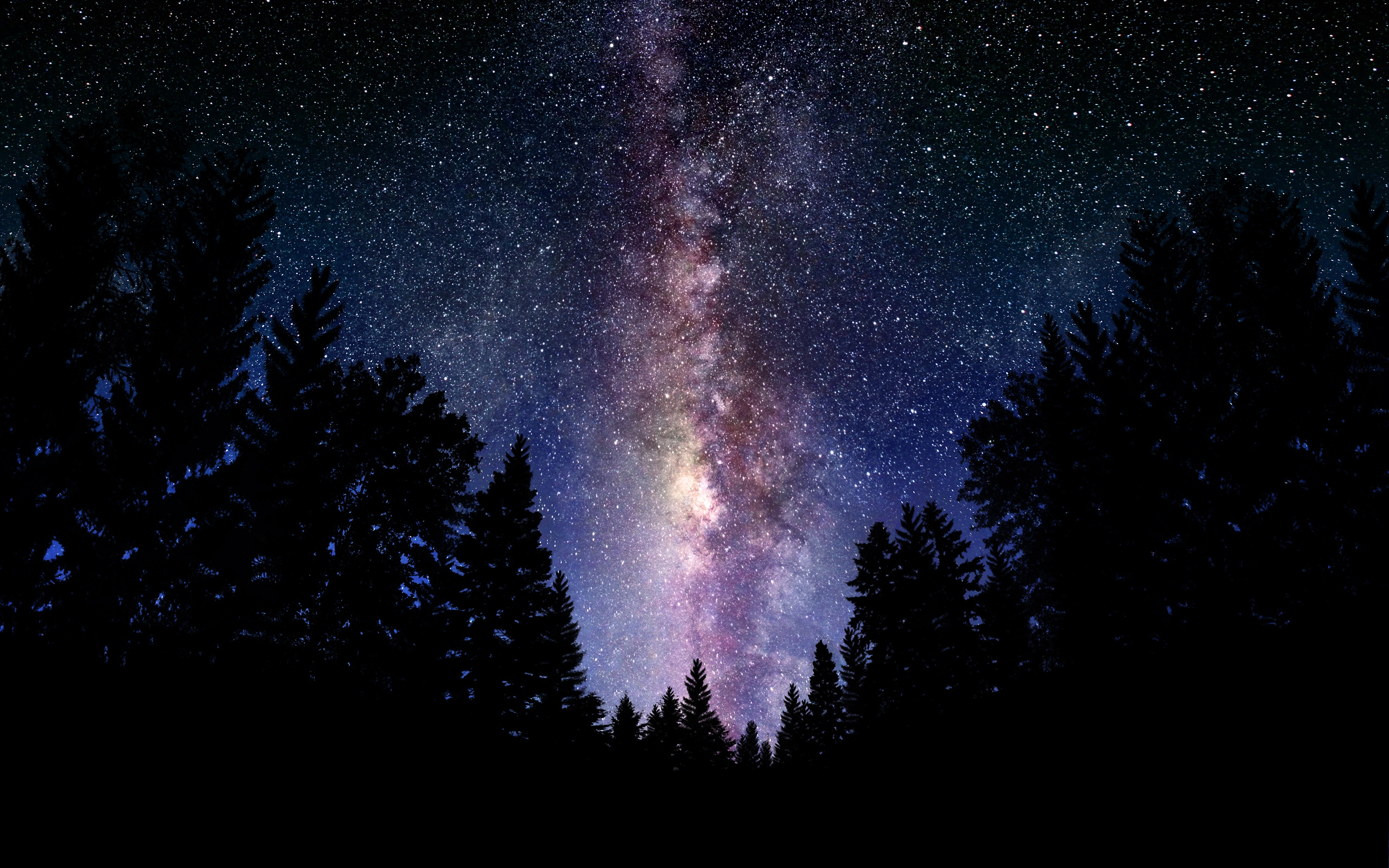 Milky Way Galaxy Desktop Wallpapers FREE on Latorocom 2560x1600