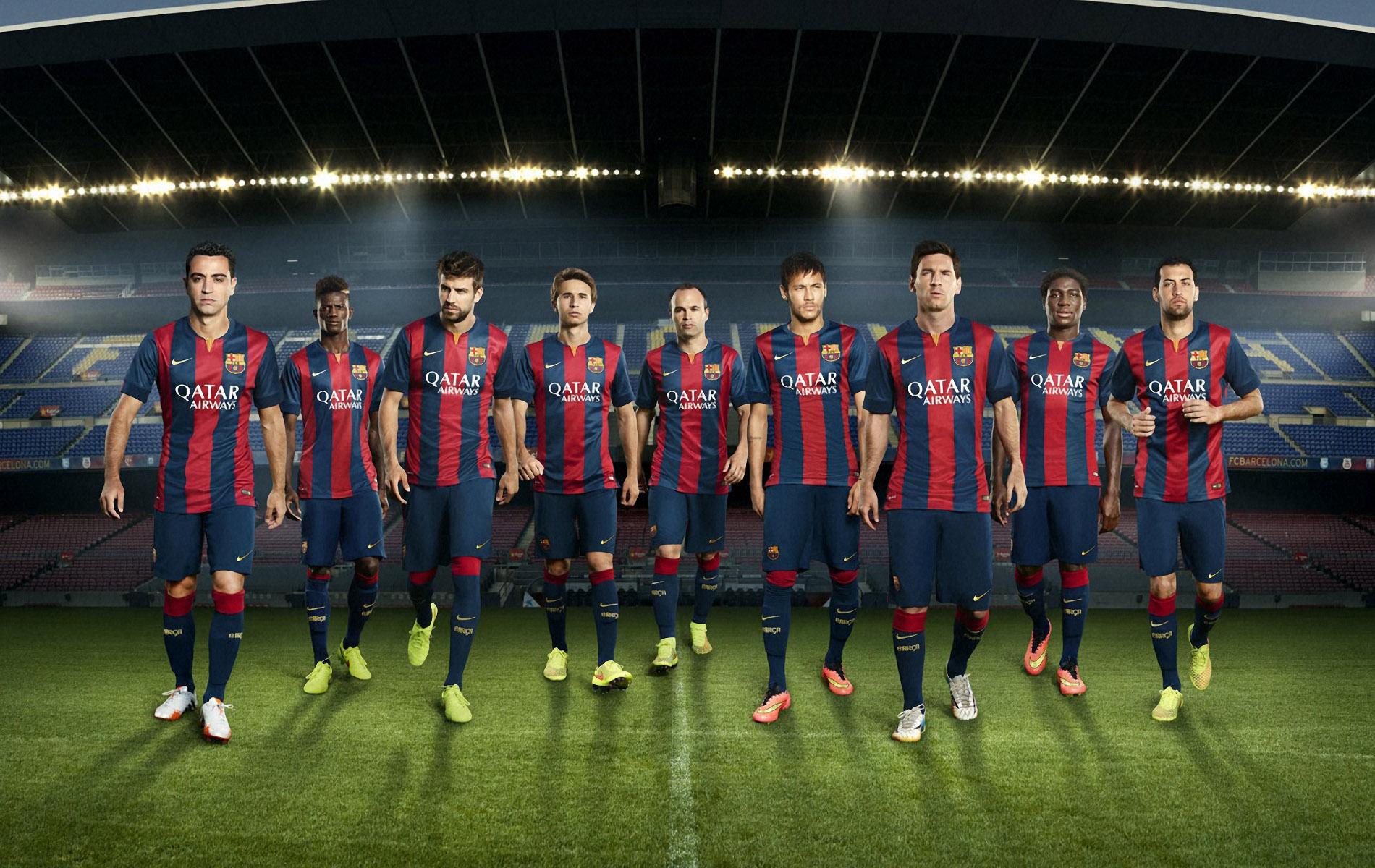 FC Barcelona Team Wallpaper 2015 The Art Mad Wallpapers 1900x1200
