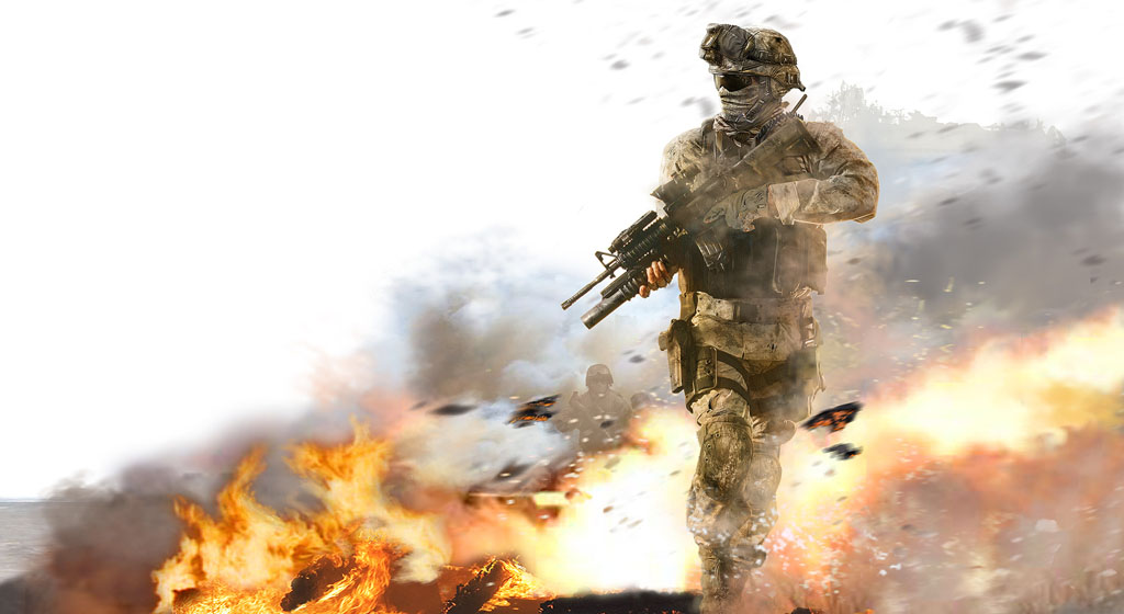 Sniper Cat Wallpaper Modern warfare 2 wallpaper 1024x560