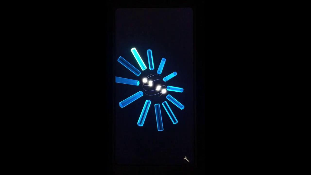 PS2 Clock Live Wallpaper 1280x720