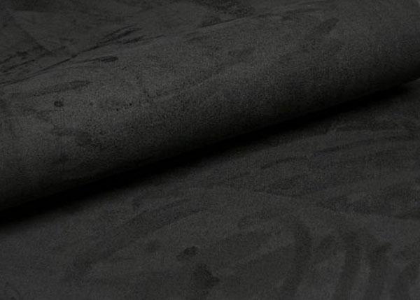 Self Adhesive Fabric Suede DIY Wrap Black 500mm x 450mm Shipping 600x429