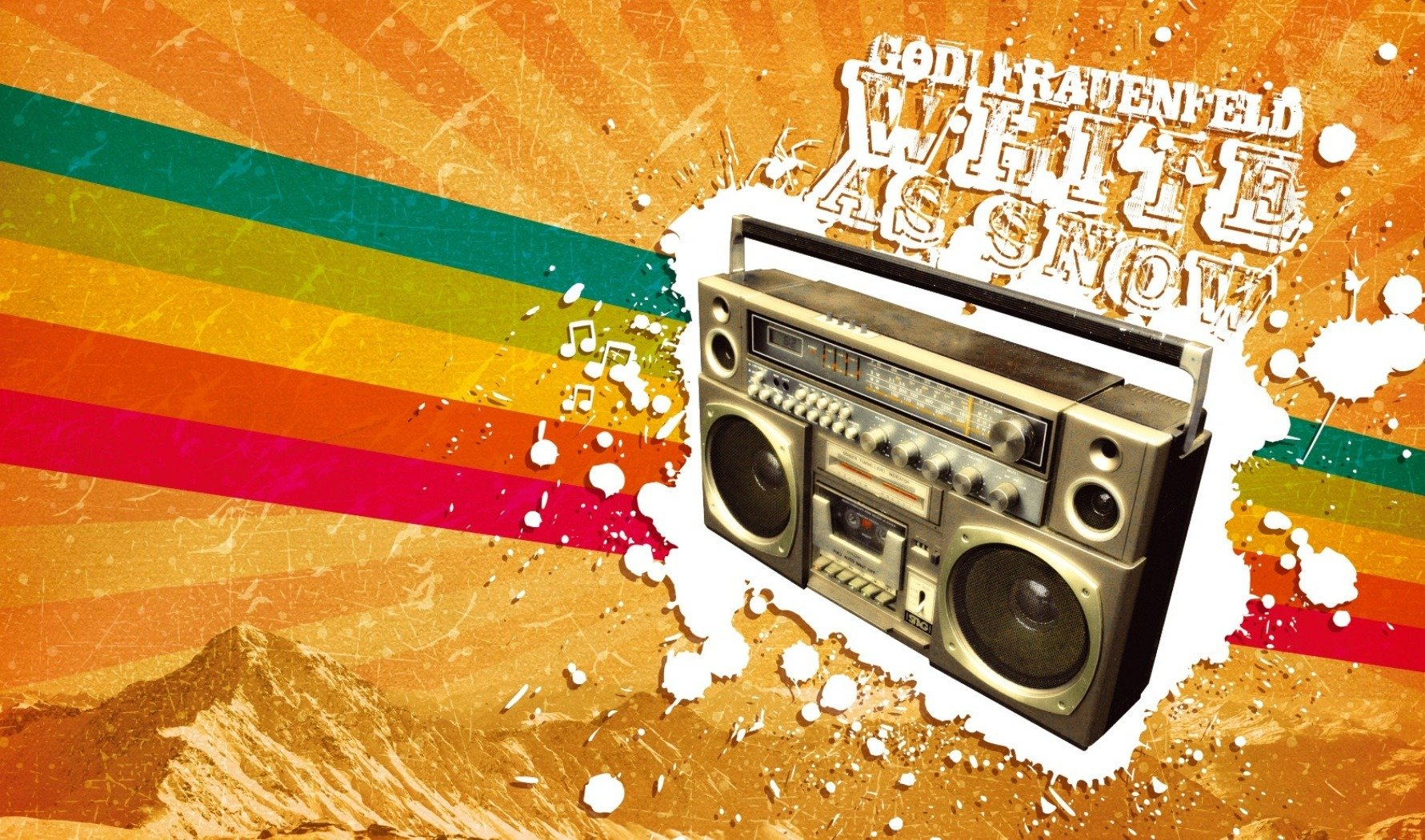 cassette tape retro old school style labels background wallpaper 1781x1050