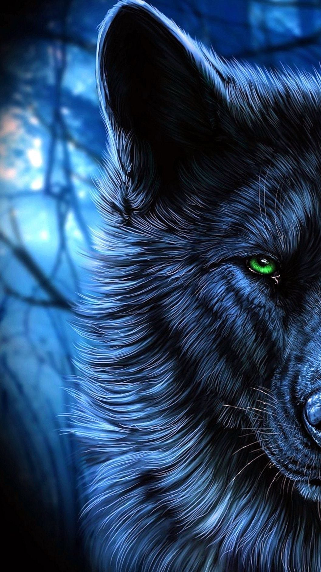 62+] Images of Wolf Wallpapers on