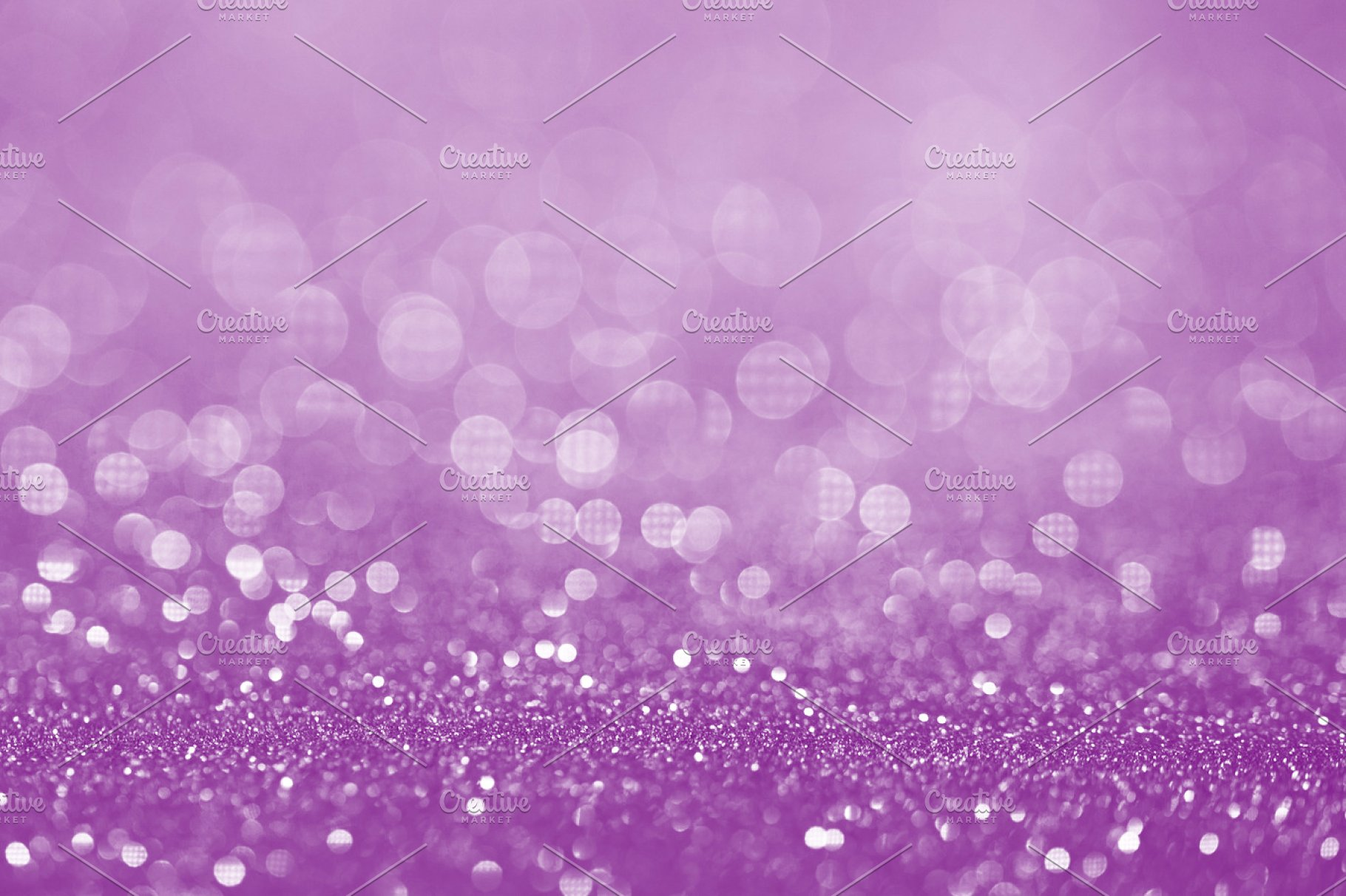 Purple glitter surface with purple light bokeh   It can be used 1820x1212