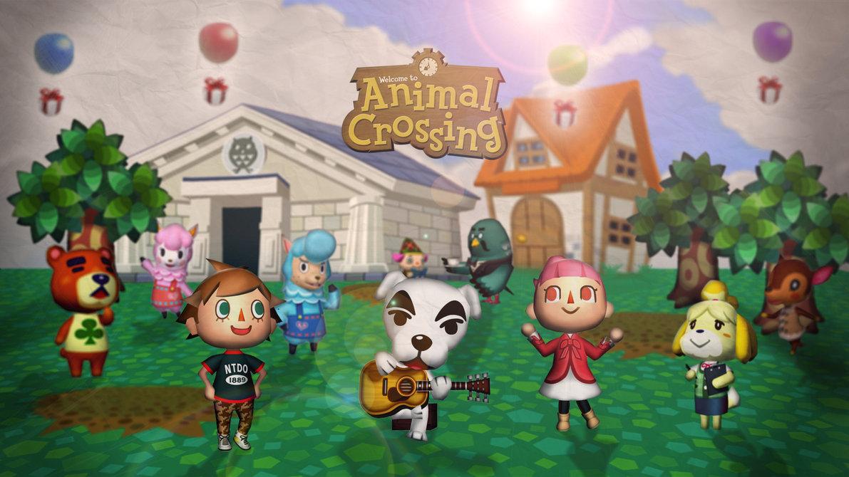 47 Animal Crossing Hd Wallpaper On Wallpapersafari