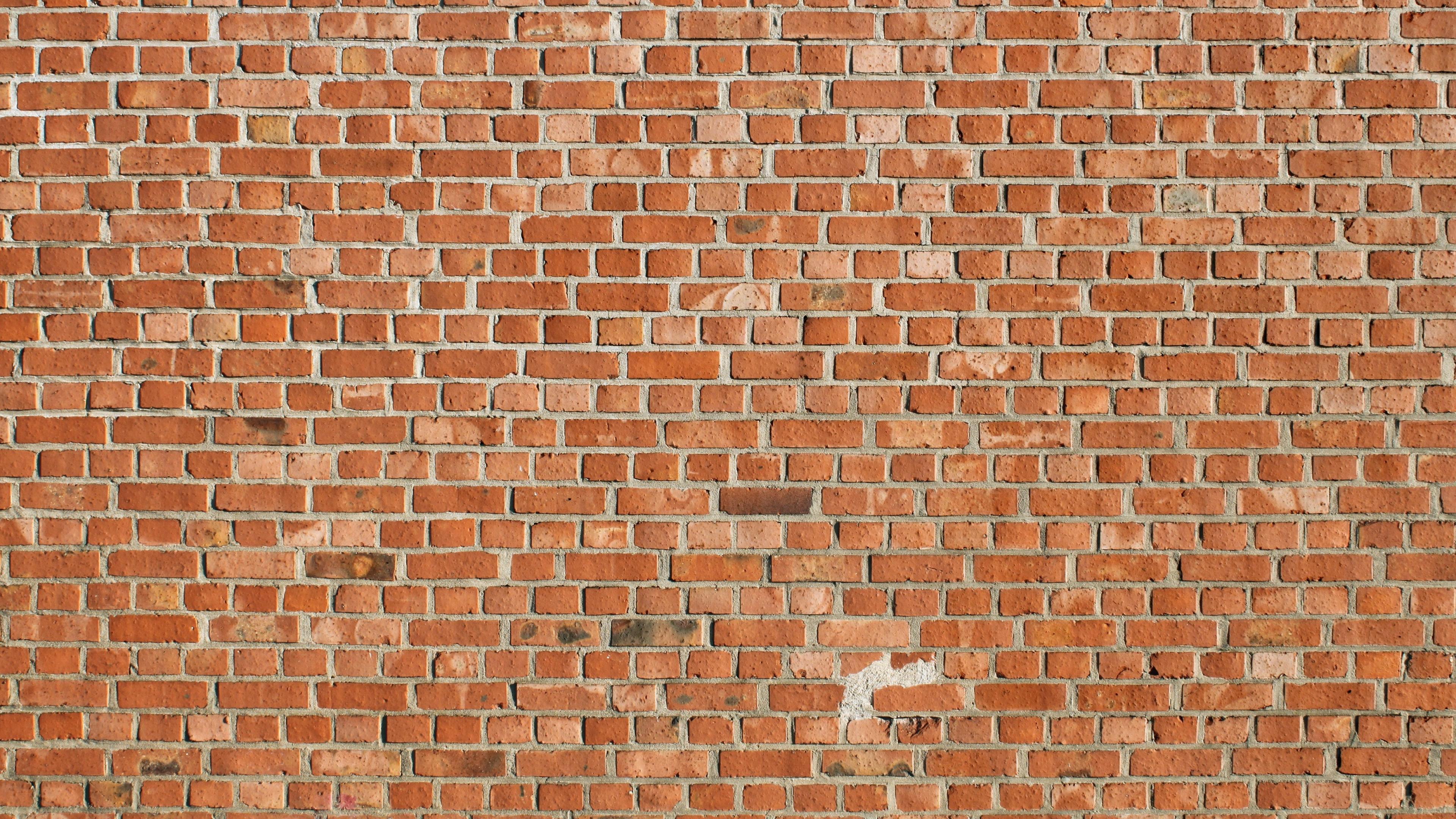 Wallpaper 3840x2160 texture brick wall 4K Ultra HD HD Background 3840x2160
