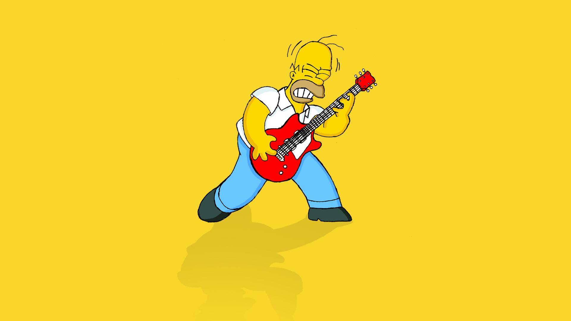 Fotos   Homer Simpson Wallpaper 1920x1080
