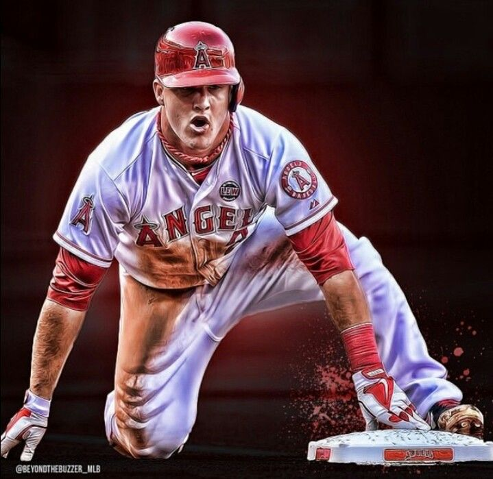 47 Mike Trout Wallpapers On Wallpapersafari