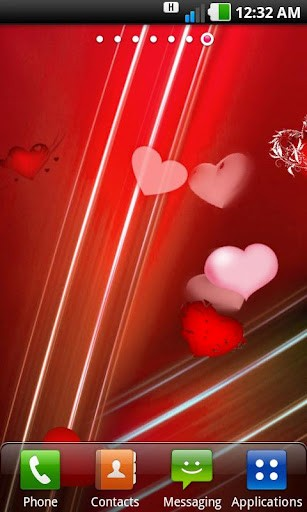 Sexy Heart Live Wallpaper App for Android 307x512