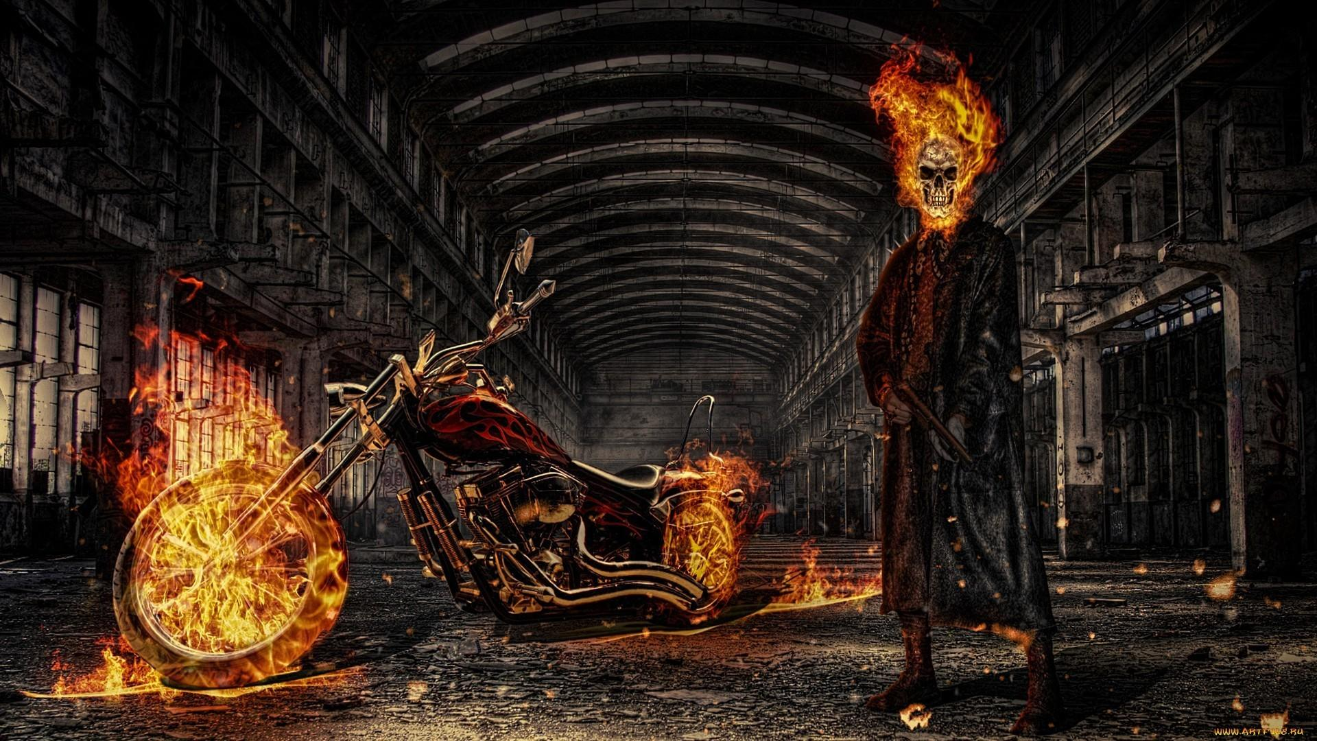 Ghost rider wallpaper 62129 1920x1080