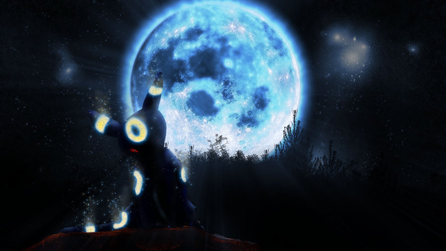 Umbreon used Moonlight by Syrabi 900x506