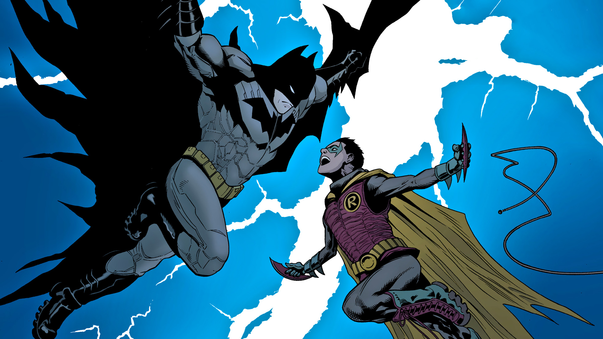 Comics   Batman Robin Batman Robin Wallpaper 1920x1080