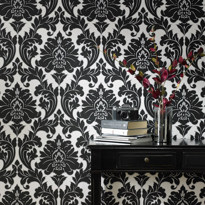 Majestic black and white Removable Wallpaper 700x700