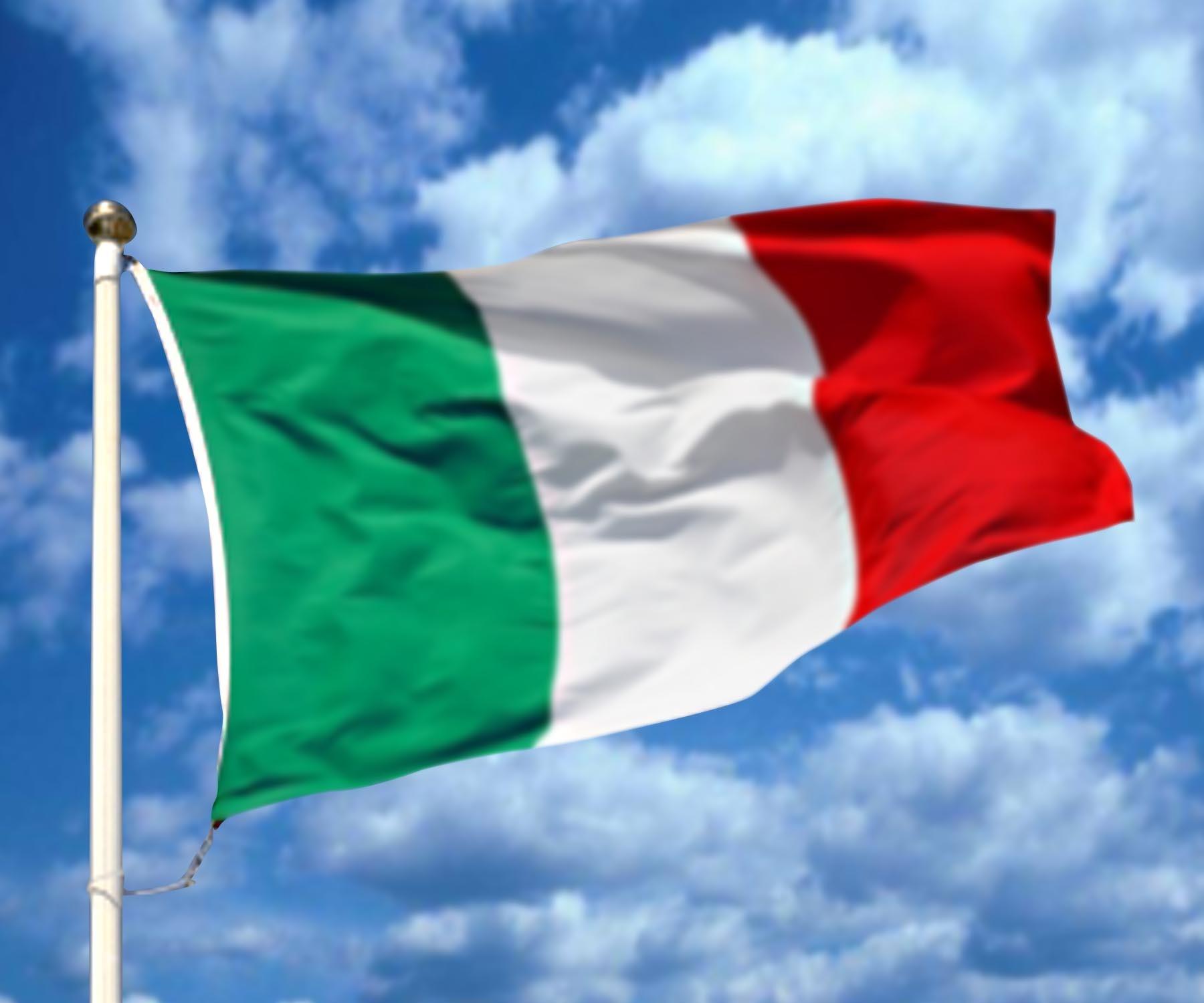 Italian Flag Wide High Resolution Wallpaper Download 1800x1500