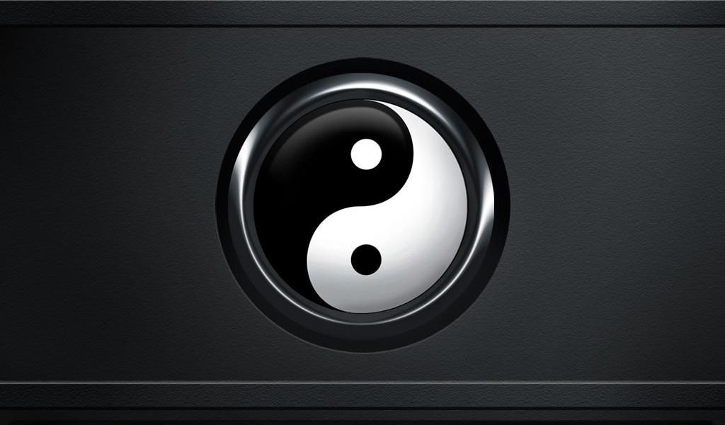Yin Yang Symbol Hd Wallpaper