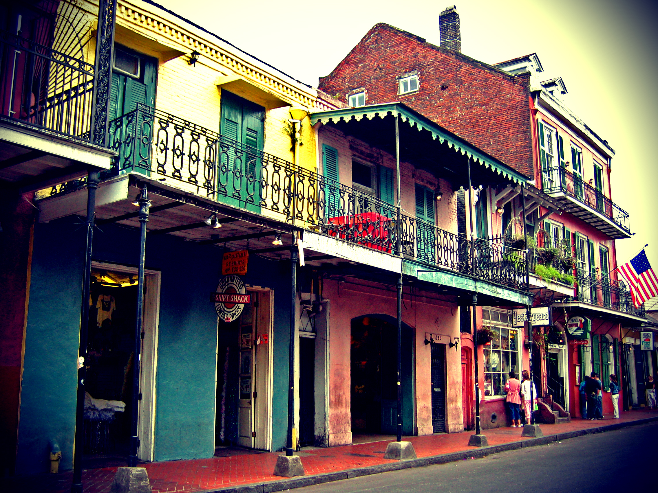 French Quarter New Orleans HD Wallpaper Background Images 2272x1704