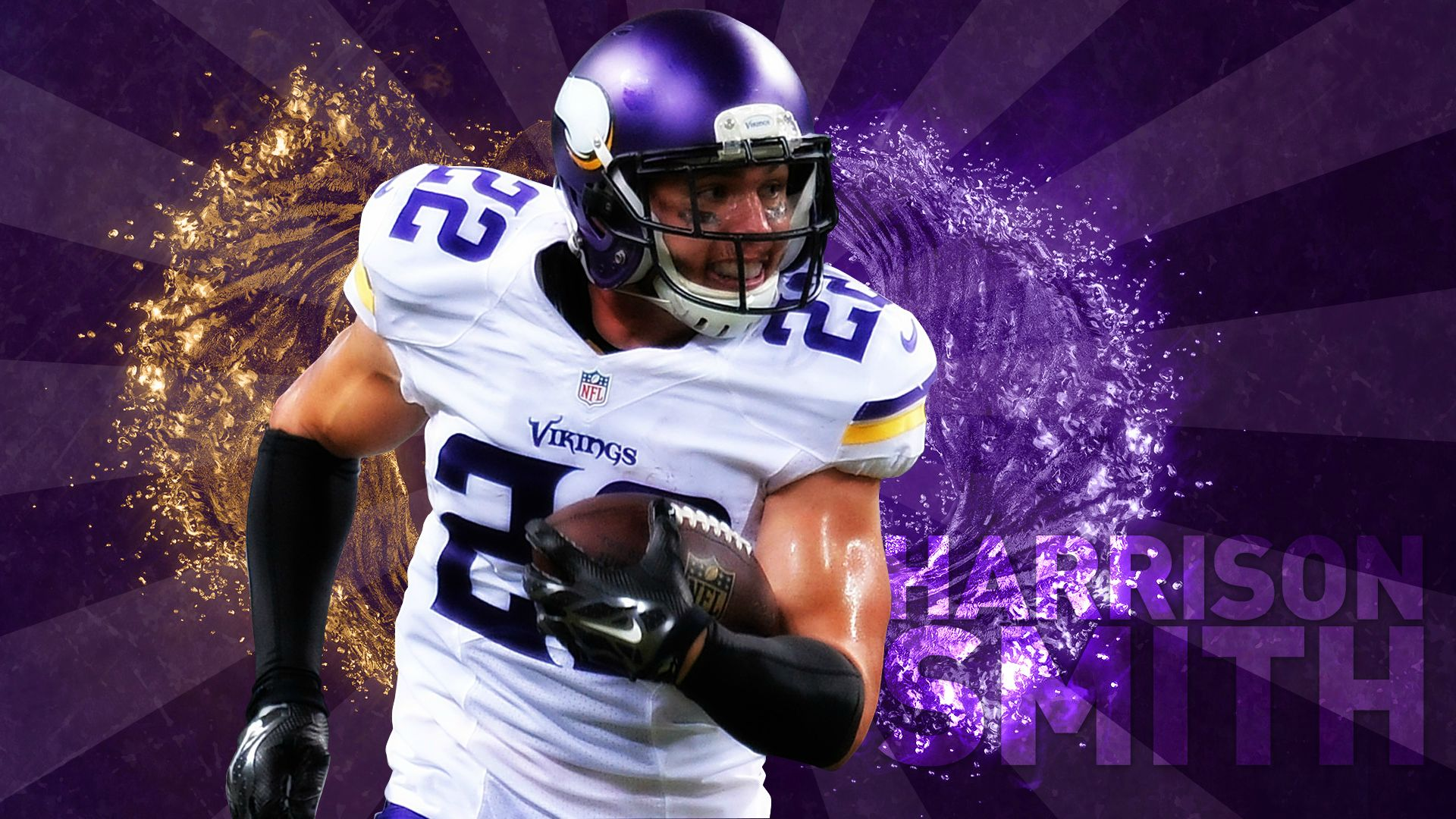 Anybody have any good Harrison smith wallpapers minnesotavikings 1920x1080