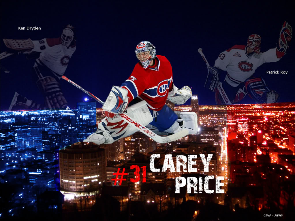 Carey Price Wallpapers Montreal Habs Montreal Hockey 20 1023x767