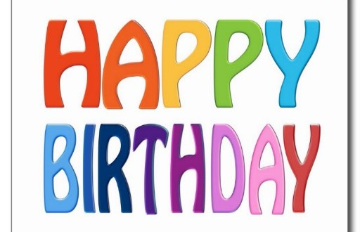 Happy birthday animated wallpaper 512x330