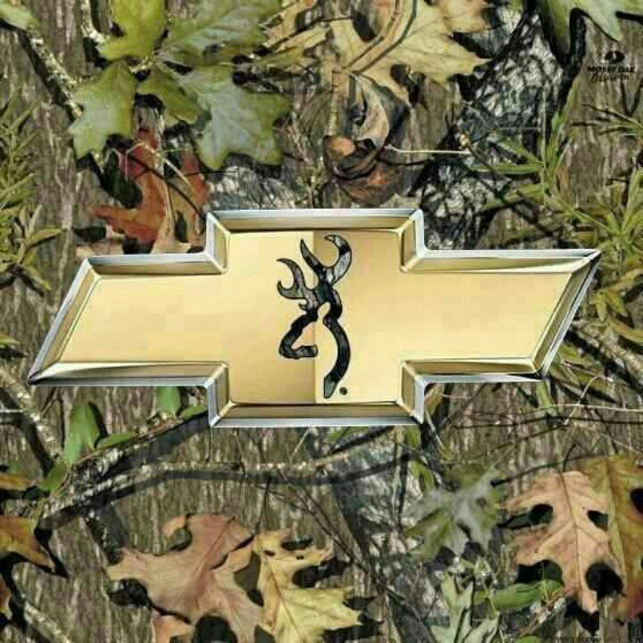 Camo Chevy Symbol Chevy bow tie browning and 720x720