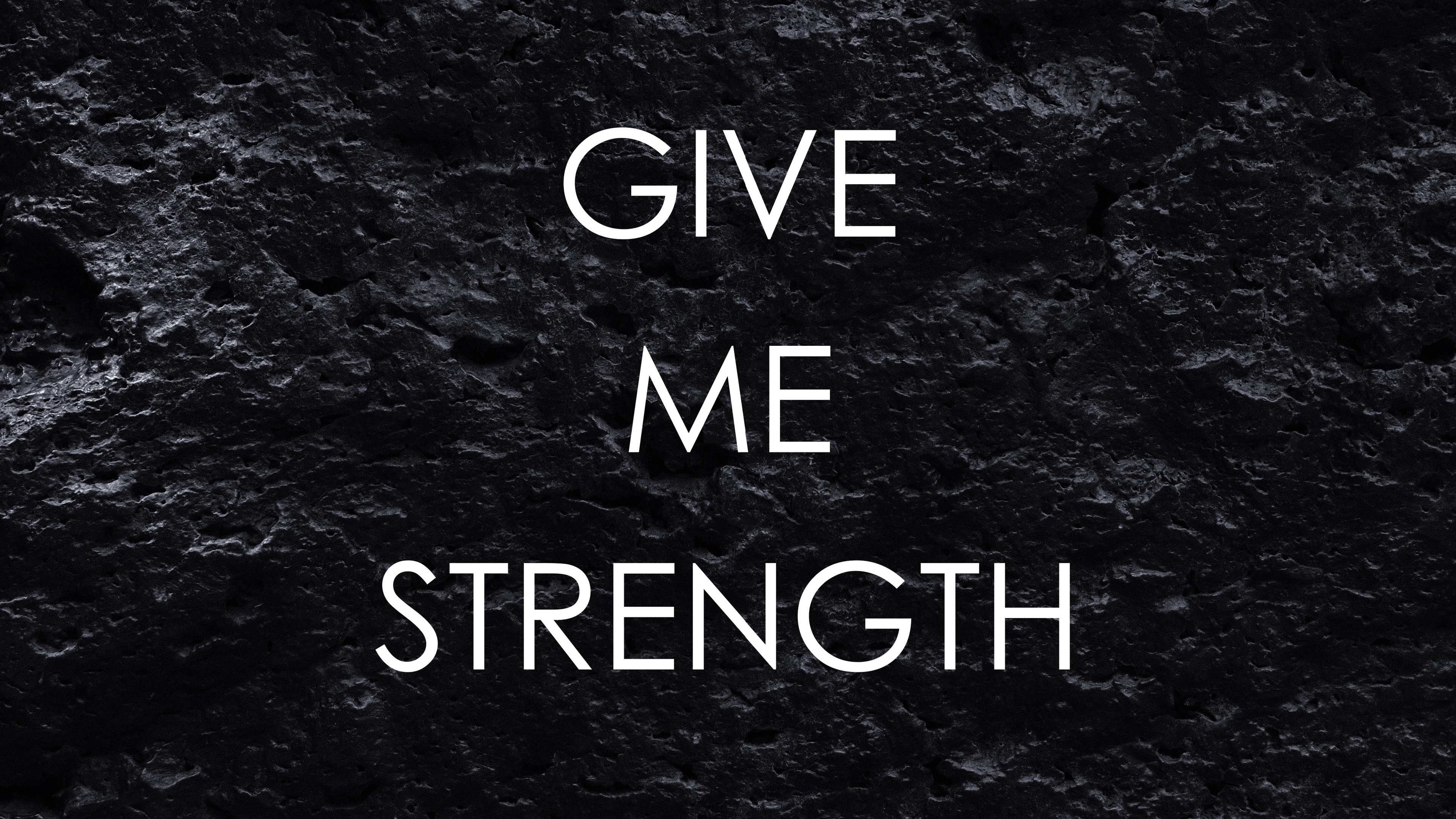 Download wallpaper 3840x2160 motivation strength patience 3840x2160