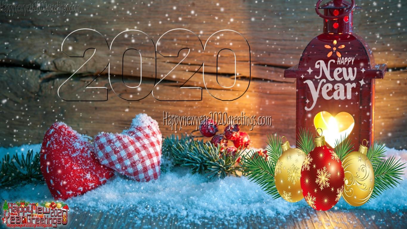 Happy New Year 2020 HD Wallpaper 19201080p Download   New 1366x768