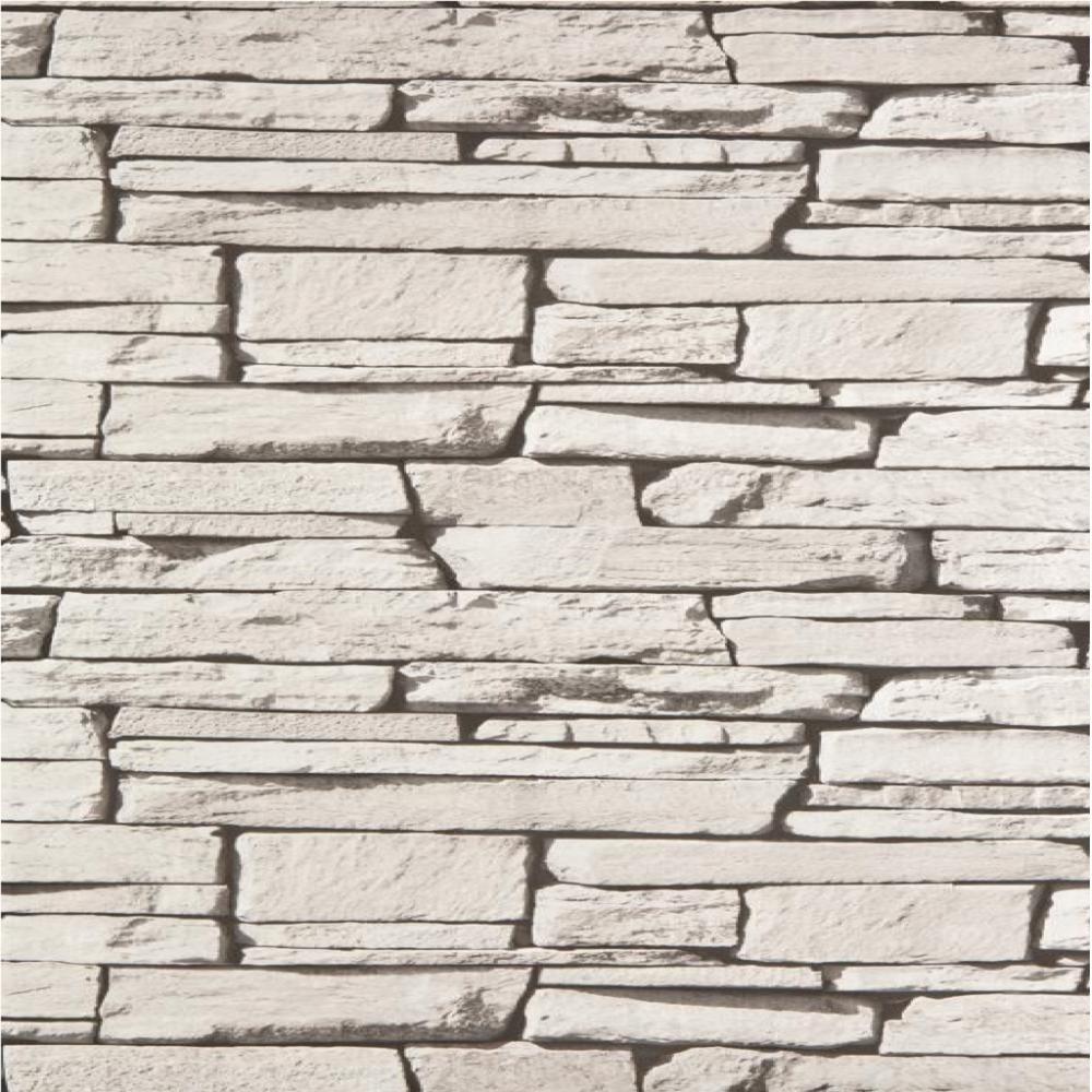 Dax Dry Stone Wall Slate Brick Effect Vinyl Wallpaper Roll 827087 1000x1000