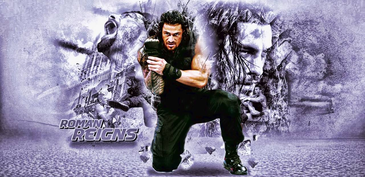 roman reigns wallpaper by karim elmahalawy by karimelmahalawy on 1281x624