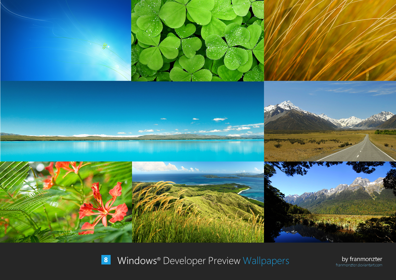 Windows Developer Preview Wallpapers by arcticpaco 1500x1063